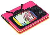 MTV Loungefly - MTV Mujer Tarjetero Standard, Semi piel,