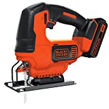 BLACK+DECKER 20V MAX JigSaw with Battery And Charger (BDCJS20C)