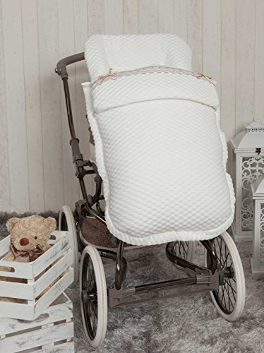 Babyline Sweet - Saco de silla de paseo, color blanco