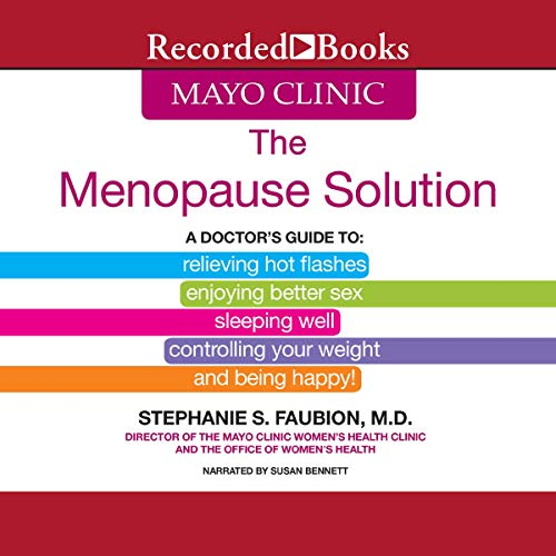 Mayo Clinic: The Menopause Solution cover art
