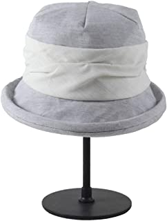 Hats Women's Summer Korean Version of Sun Protection UV Protection Along The Sun Hat Summer Hat Fashion (Color : Grey)