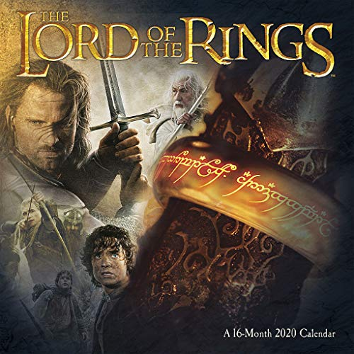 The Lord of the Rings 2020 Wall Calendar