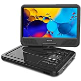 "WONNIE 2020 Upgrade 12.5"" Portable DVD Player with 10.5 inches 270° Swivel Screen"