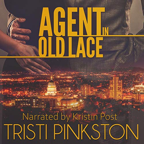 Agent in Old Lace audiobook cover art