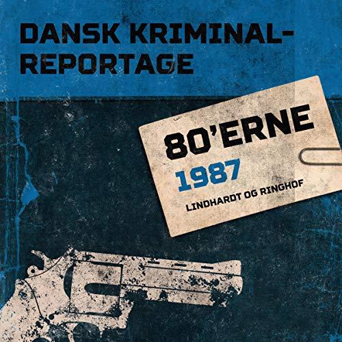 Dansk Kriminalreportage 1987 cover art