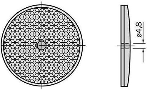 Sick Reflektor C110 D=83mm Reflektor für Lichtschranke 4047084110160