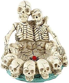 Gothic Skull Ashtray,Skull Shaped Ashtray Resin Skull Ash Holder Smoking Accessories Home Ornament Halloween Skull Resin C...