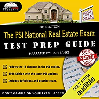 California Real Estate License Exam AudioLearn - Complete