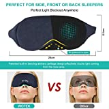 Zoom IMG-2 maschera da notte per uomo