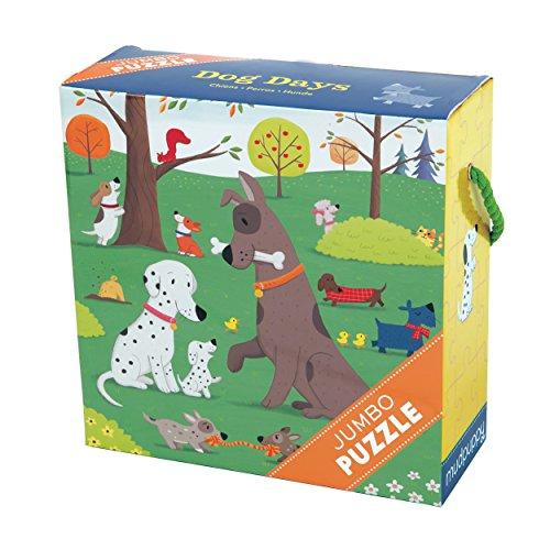 Dog Days Jumbo Puzzle: 25 Pieces
