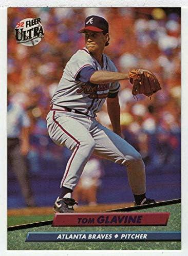 Tom Glavine Baseball Card 1992 Fleer Ultra 162 NM MT product image