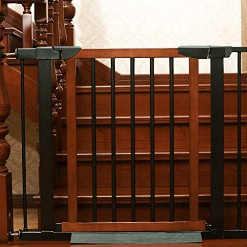 PNFP binnenveilige store hout extra breed baby deur druk fit uitbreiding auto close-huisdierdeur