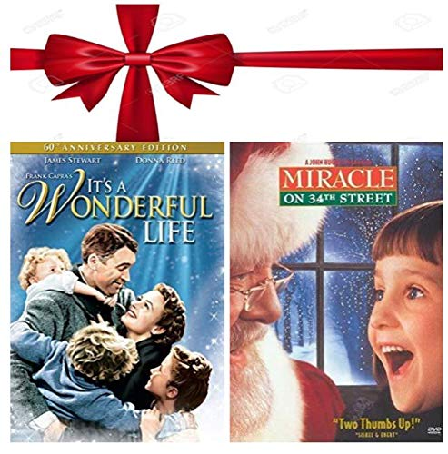Holiday Movies on DVD - It's a Wonderful Life & Miracle on 34th Street 1994 - Double Feature