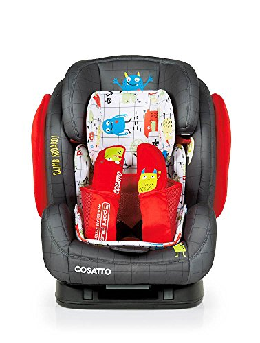Cosatto Hug Isofix Car Seat Group 123, Monster Mob