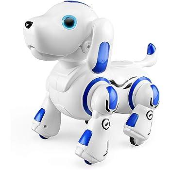 ロボットおもちゃ 犬 電子ペット ロボットペット 最新版ロボット犬 子供のおもちゃ 男の子 女の子おもちゃ 誕生日 子供の日 クリスマスプレゼント「日本語の説明書付き」