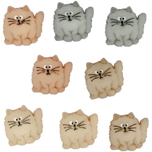 Jesse James (1-Pack) Dress It Up Button Fun Collection #5830 Fat Cats 5830-1P by Jesse James