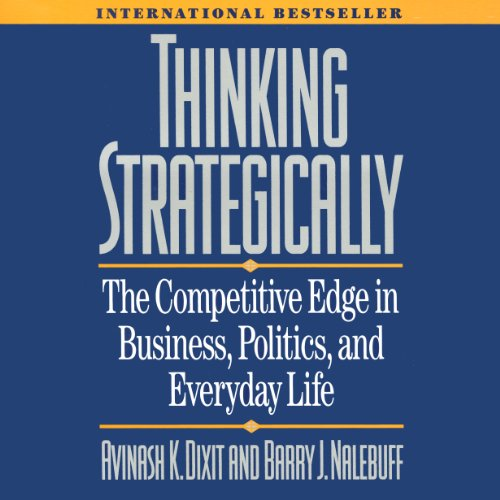 Thinking Strategically cover art