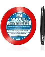 MMOBIEL Cinta adhesiva fuerte de acrílico doble cara para montaje, Largo: 30m Resistente a la intemperie y Removible