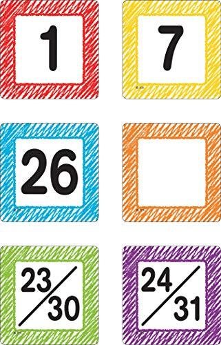 Top 10 calendar numbers for 2020