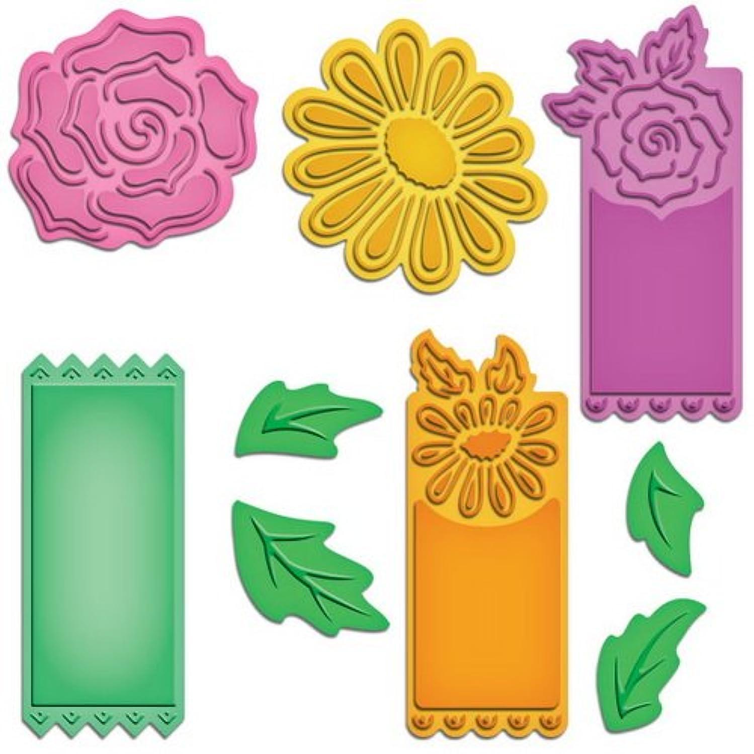 Spellbinders S5-105 Shapeabilities Floral Tags Die Templates