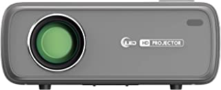 EUG 1080P Projector with Android Bluetooth Supports Disney+ Prime Video