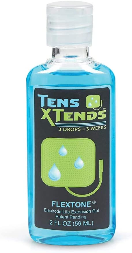 TensXtends Conductive Adhesive Gel Brand new for Pads Tens - Form Branded goods Patented