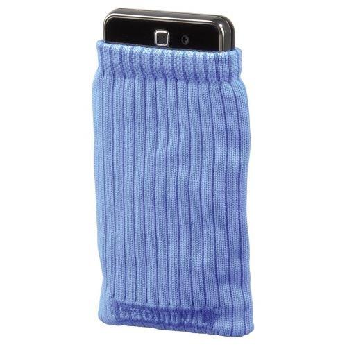 Hama Mobile Phone Stocking for Apple iPhone, Blue Handy-Schutzhülle Blau - Handy-Schutzhüllen (Blue, Blau)