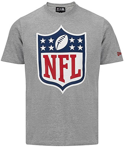 "New Era ""NFL National Football League Logo"" T-Shirt - heather grey - 4XL"