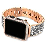 HCKZ Mode for la Bande d'Apple Montre 44mm 40mm 38mm 42mm Couverture iWatch série 5 4 3 2 1 Femme...