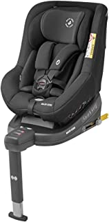 Maxi-Cosi Beryl Kindersitz, geeignet für jedes Auto dank Installation mit Gurt oder ISOFIX, vor- und rückwärts Fahren, Gr. 0/1/2 Autositz, Authentic Black schwarz