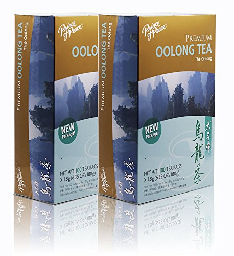 small Prince of Peace Oolong Tea-100 Tea Bags Net Weight.  180 g (6.35 ounces) (2)