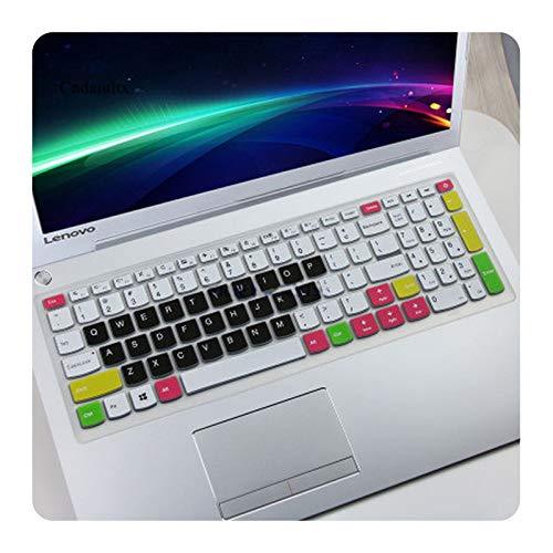 Funda protectora para teclado de 15,6' para Lenovo Ideapad 15 110-15ISK V310 310s 510-15IKB 310-15ISK 310-15IKB-Color 2