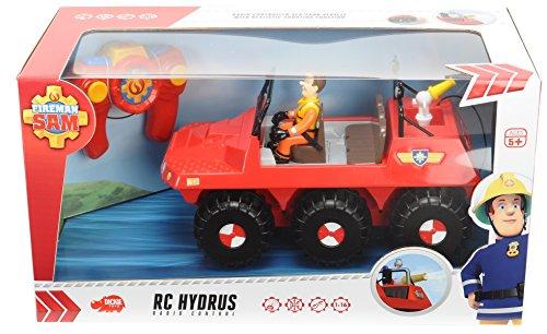 RC Feuerwehr kaufen Feuerwehr Bild 1: Dickie Toys 203099620 - RC Feuerwehrmann Sam Hydrus, funkferngesteuert zu Wasser und zu Land, 30 cm*