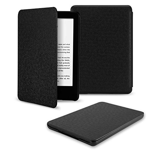 Capa para o Kindle 10a geração (aparelho com iluminação embutida) - rígida - sistema de hibernação - Preta