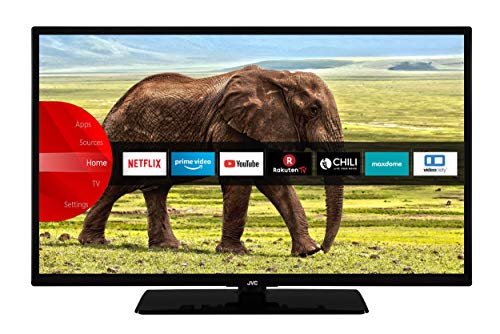 JVC LT-32VF5955 32 Zoll Fernseher (Smart TV inkl. Prime Video / Netflix / YouTube, Full HD, Bluetooth, Works with Alexa, Triple-Tuner) [Modelljahr 2020]