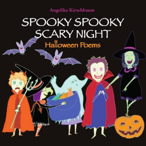Spooky Spooky Scary Night audiobook cover art