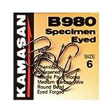 Kamasan B980 Hooks - Size: 12