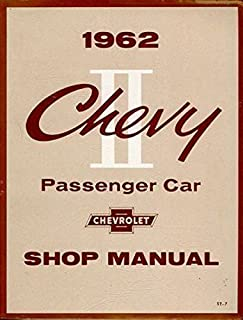 COMPLETE 1962 CHEVY II & NOVA FACTORY REPAIR SHOP & SERVICE MANUAL - CHEVROLET 62