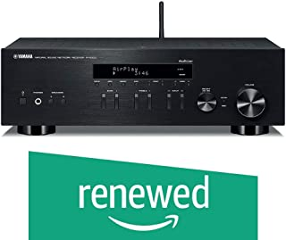 (Renewed) Yamaha R-N303 Stereo Receiver 100 watts x 2 @ 8 ohms Built-in Wi-Fi & Bluetooth, Airplay, MusicCast