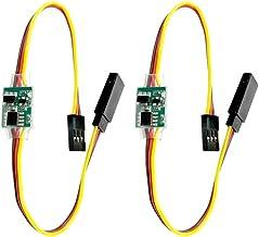 Readytosky Universal 5~6V 2A RC Servo Signal Reverser Rotation Inverter for Aircraft Airplane Steering Gear 2PCS