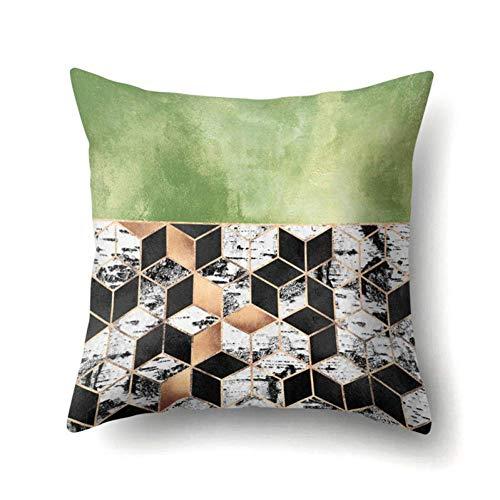 ZLXIONG colorido geométrico sofá decorativo almohada funda de almohada almohada almohada cojín cojín cojín almohada almohada almohada almohada decoración hogar