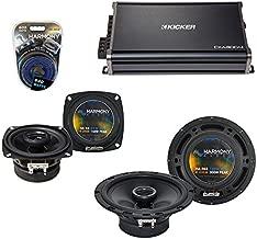 Compatible with Subaru Forster 1998-2004 OEM Speaker Upgrade Harmony R65 R4 & CXA300.4 Amp (Renewed)