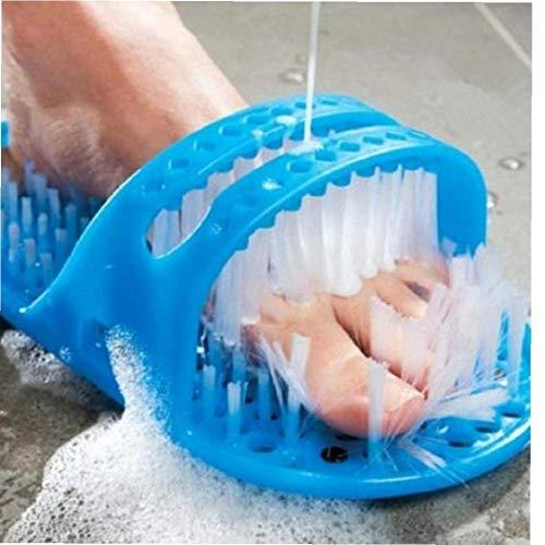 Zapatilla De Baño De Plástico De Piedra Pómez del Pie Exfoliar Cleaner Lavado De Zapatos Zapatillas De Ducha con Ventosas Sole