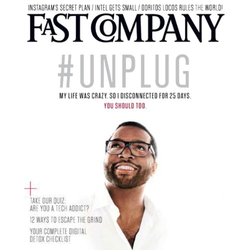 Audible Fast Company, July/August 2013 cover art