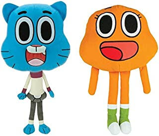 AMAZING WORLD OF GUMBALL 2 PIECE STUFF TOY 8 INCH SET by AMAZING WORLD OF GUMBALL
