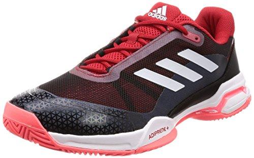 Adidas Barricade Club, Zapatillas de Tenis Hombre, Rojo (Rojo 000), 40 2/3 EU