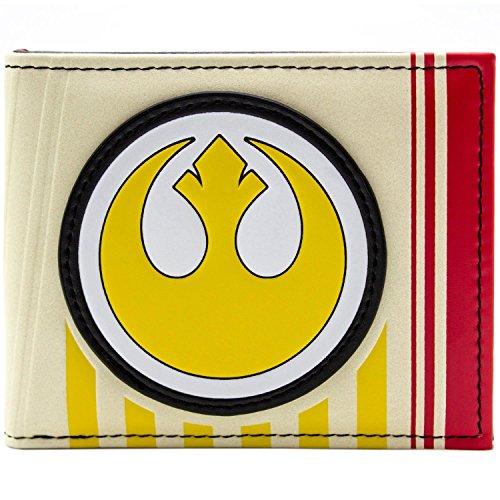 Cartera amarilla de Star Wars Símbolo rebelde