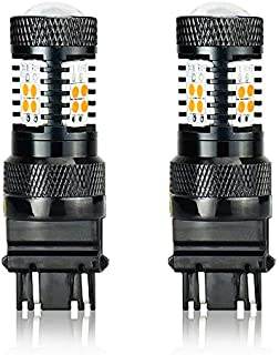 JDM ASTAR 3030 Chips High Power 3056 3156 3057 3157 4157 Amber LED Bulbs with Projector