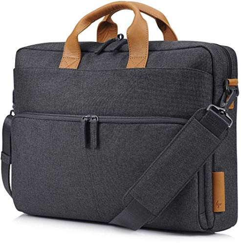 HP Envy Urban 15.6 Inch (39.6 cm) Grey Briefcase TopLoad Messenger Bag with RFID for Laptop/Chromebook/Mac