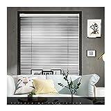Colinas venecianas de aluminio para cortina personalizadas de ácaro, persianas para ventanas de sala de estar, enrollamiento en el oscurecimiento de las persianas, tonos de protección solar a prueba d